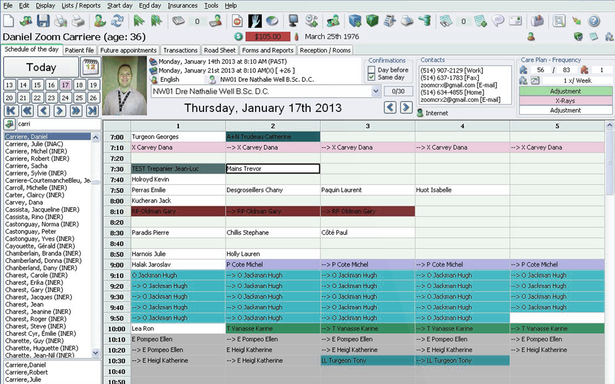 emr software for chiropractors