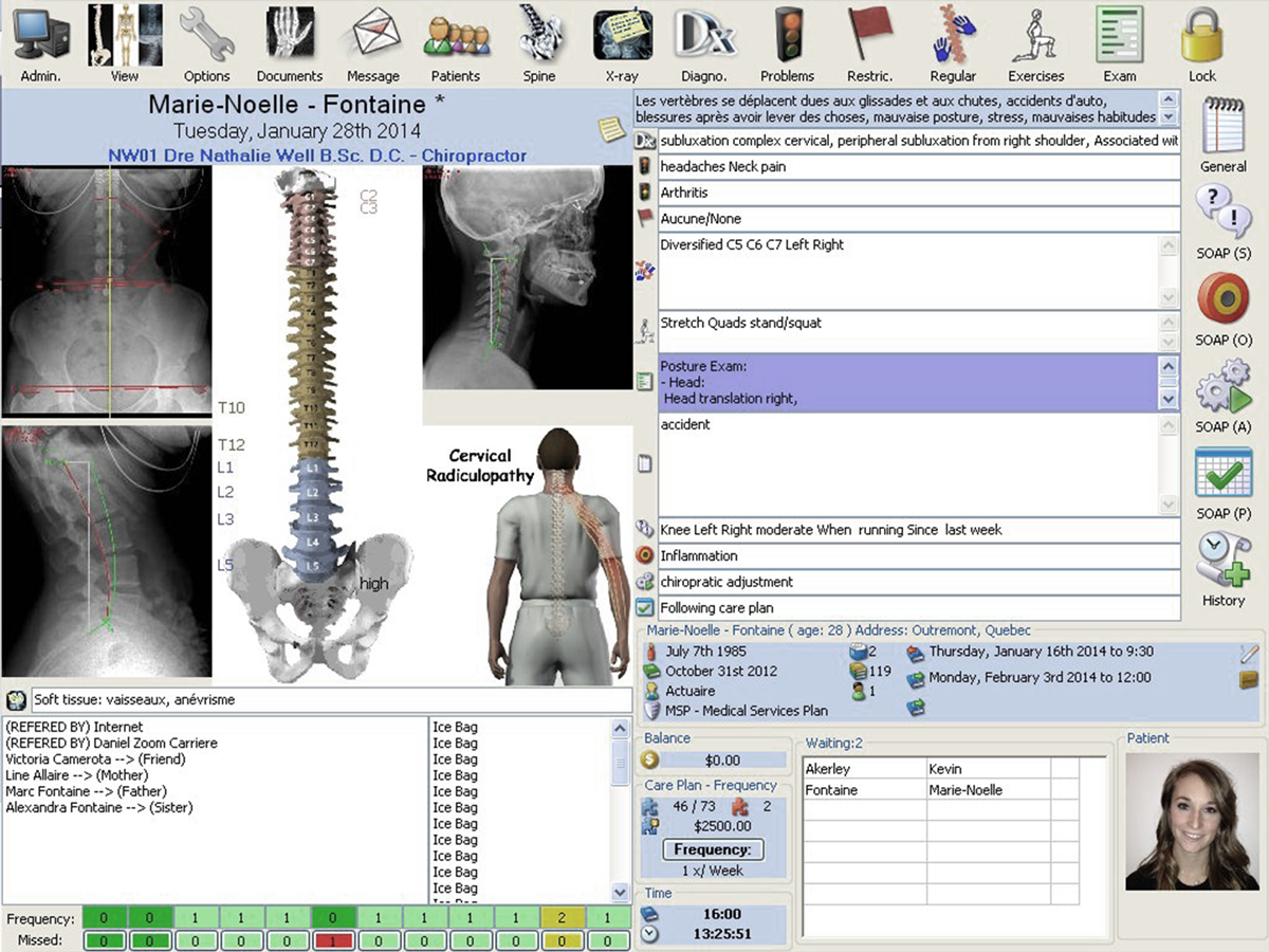 Chiropractic Software Demo Nexysoft
